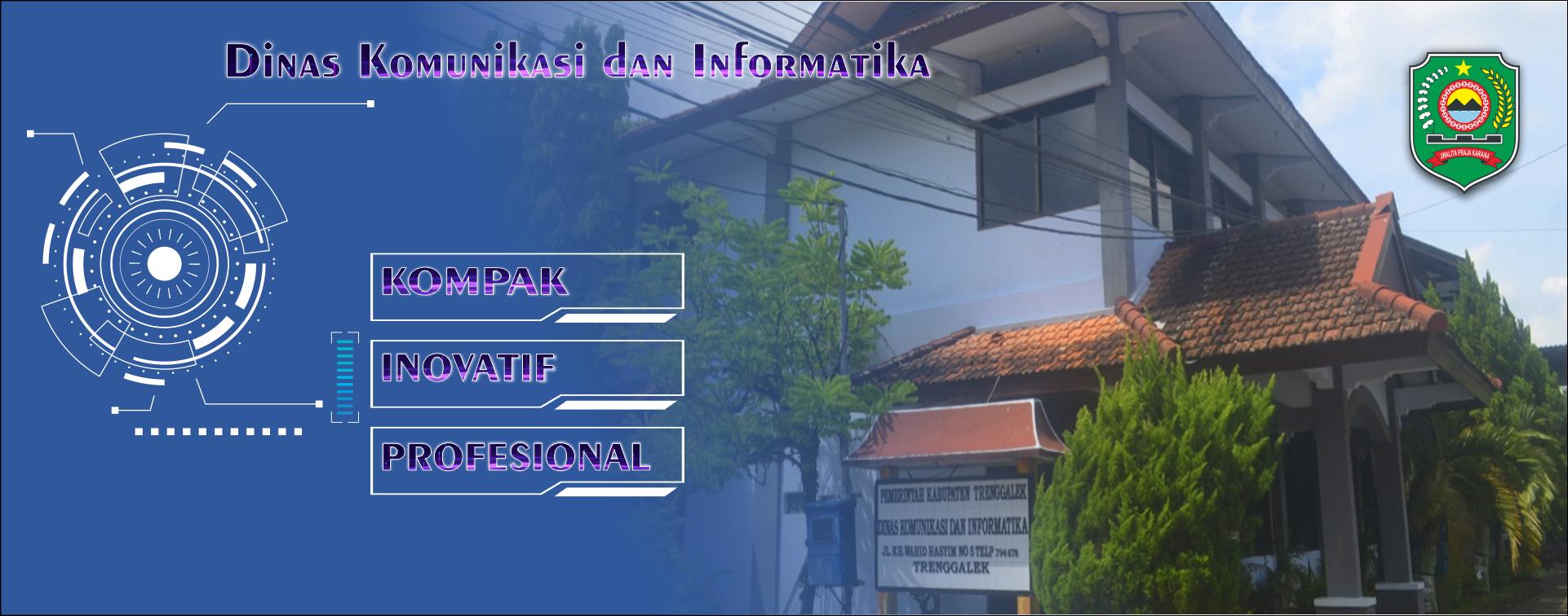 Moto DInas Kominfo Kabupaten Trenggalek